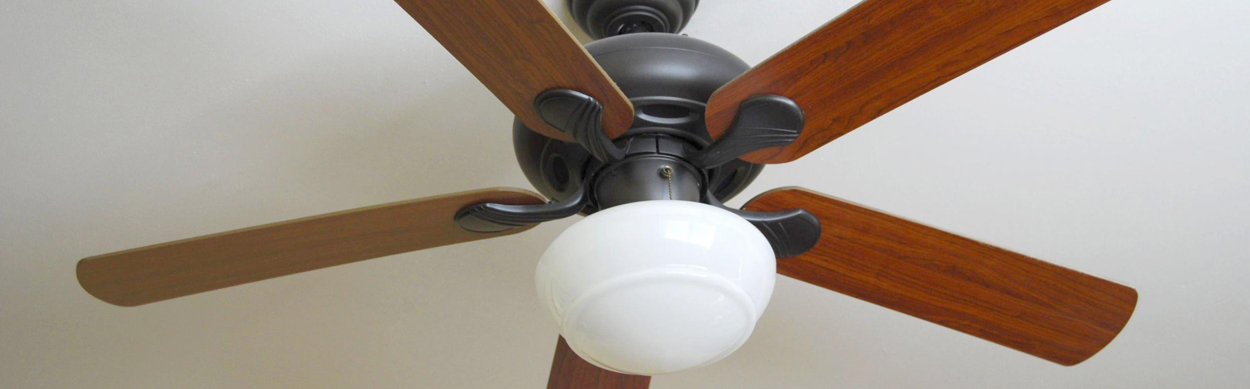 Modern Hugger Ceiling Fan